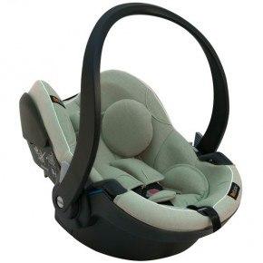 BeSafe iZi Go Modular i-Size Babyskydd - Sea Green Mélange