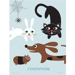 Roommate Best Friends Familj Plakat