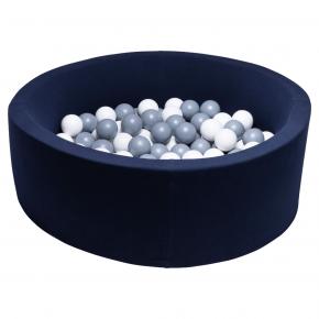 TINY REPUBLIC bollhav 90x30 - marinblå