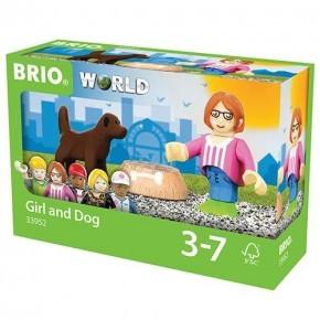 BRIO Figurpaket Hund och matskål