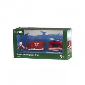 BRIO Uppladdningsbart Tåg