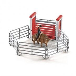 Schleich (41419) Tjurridning med Cowboy