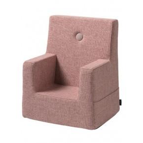 By KlipKlap Kids Chair - Soft rose w rose Barnfåtölj