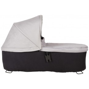 Mountain Buggy Carrycot Plus V3 Duett - Silver