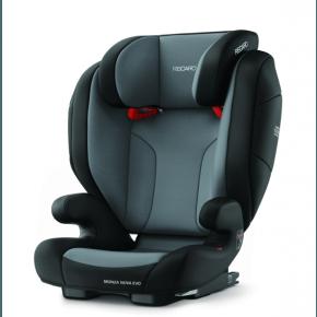 Recaro Monza Nova Evo Seatfix Bilbarnstol - Carbon Black