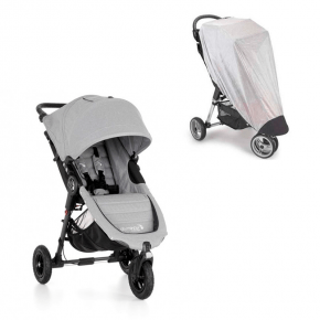Baby Jogger City Mini GT Sittvagn + Insektsnät - Slate