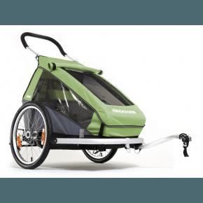 CROOZER Cykelvagn Kid 1 - Grön
