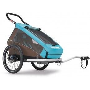 CROOZER Kid 1 Plus Cykelvagn - Blå