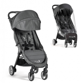 Baby Jogger City Tour + Regnskydd - Charcoal