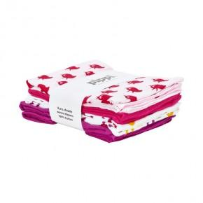 Pippi Tygblöjor 8-pack - Rosa