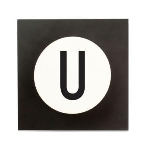 Design Letters Bokstavs Krok U