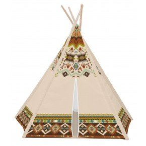 House Of Kids Tipi Tält Indianer - Beige