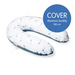 DOOMOO omslag för amning och graviditetskudde - Dog Blue