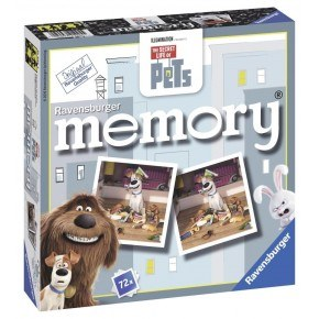 Ravensburger Secret Life of Pets Memoryspel