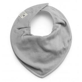 Elodie Details Dry Bib Grey Bamboo Haklapp - Grå