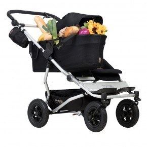 Mountain Buggy Duet Singelvagn - Svart