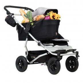 Mountain Buggy Duet Singelvagn - Silver