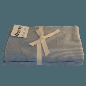 Oopsy Bomullsmatta - Dusty Blue 75x75 cm