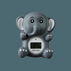 Mininor Badtermometer - Elefant