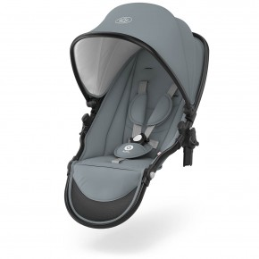 Kiddy Evostar 1 Syskonsäte - Polar Grey