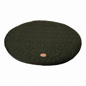 Filibabba Lekmadrass Soft Quilt Ø90 - dark green
