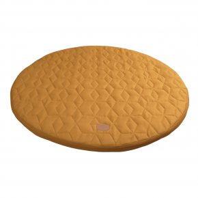 FILIBABBA Spela madrass Soft Quilt Ø90 - gyllene senap