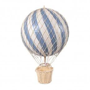 Filibabba varmluftsballong 20 cm - Pulverblått