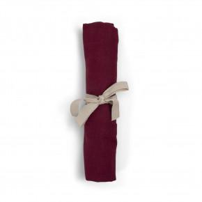 Filibabba muslin stofble - Djupt rött