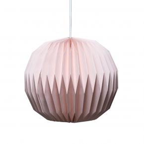 Tiny Republic Lampskärm med veck - Rosa