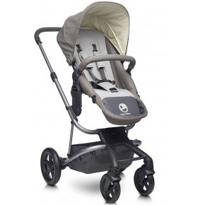 Easywalker Harvey Kombivagn - Steel Grey