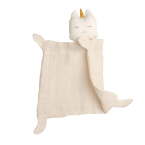 Fabelab Enhörnings Snuttefilt - Vit