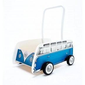 Hape Buss Walker Gåvagn - Blå