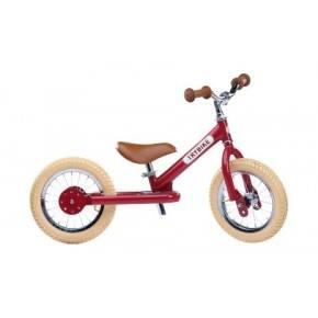 TRYBIKE Balanscykel 2-Hjul - Röd