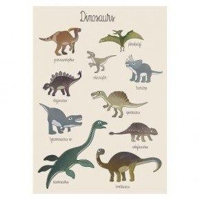 Sebra Dino Poster