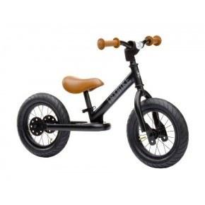 TRYBIKE Balanscykel 2-Hjul - Svart