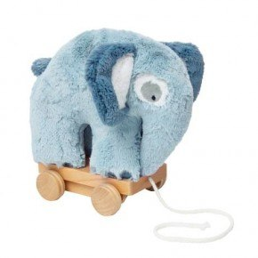 Sebra Dragdjur - Elefant Cloud Blue