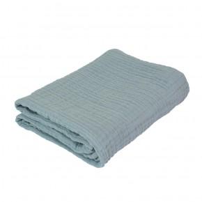 Sebra Babyfilt 85 x 85 cm - Mist Blue