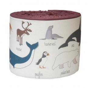 Sebra Spjälskydd - Arctic Animals