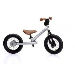 TRYBIKE Balanscykel 2-Hjul - Silver