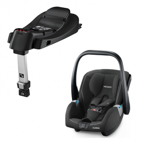 Recaro Guardia Bilstol Inkl. Base - Performance black