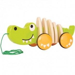 Hape Walk-A-Long Dragleksak Krokodil