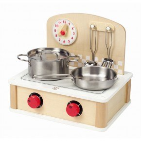 Hape Tabletop Cook and Grill - Naturfärg