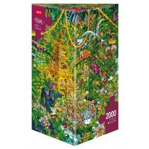 HEYE djup djungel pussel - 2000 stycken