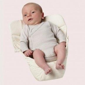 Ergobaby Easy Snug Spädbarnsinlägg - Vit