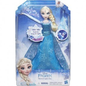 Frost Play-A-Melody Gown Elsa Docka
