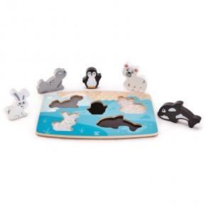 HAPE Pussel Polardjur