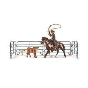 Schleich (41418) Team Roping med Cowboy
