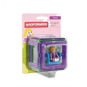 Magformers Figure Plus Princess Set 6 Delar