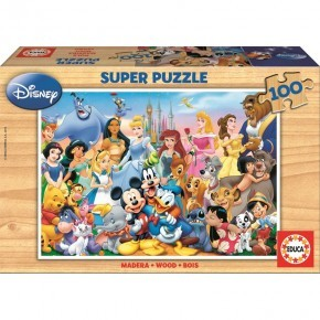 Educa The Wonderful World of Disney Pussel