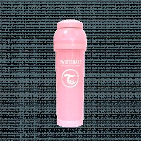 Twistshake Anti-kolik nappflaska 330ml - Pastel Pink